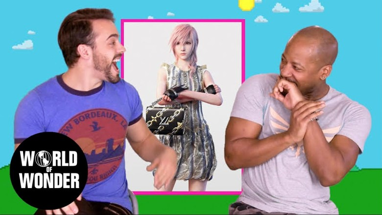 GAYMER GUYS: Video Game Fashion Review
