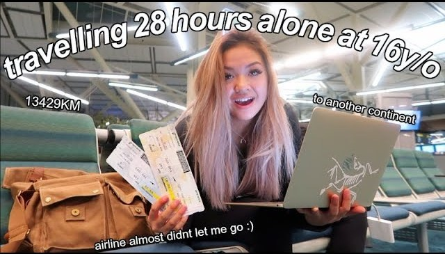 traveling alone at 16… didnt get kidnapped :)