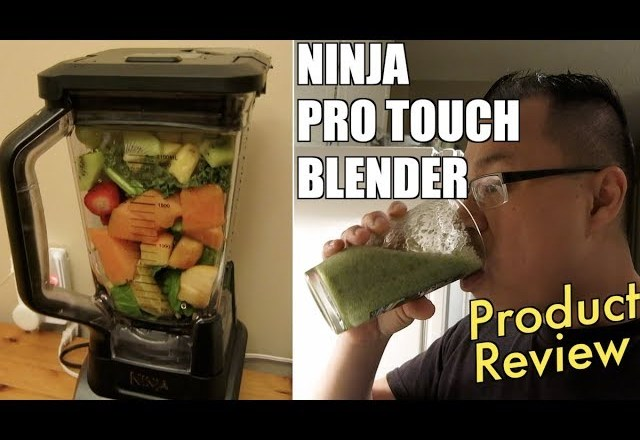 Making Smoothies with the Ninja Pro Touch Blender – [PRODUCT REVIEW]