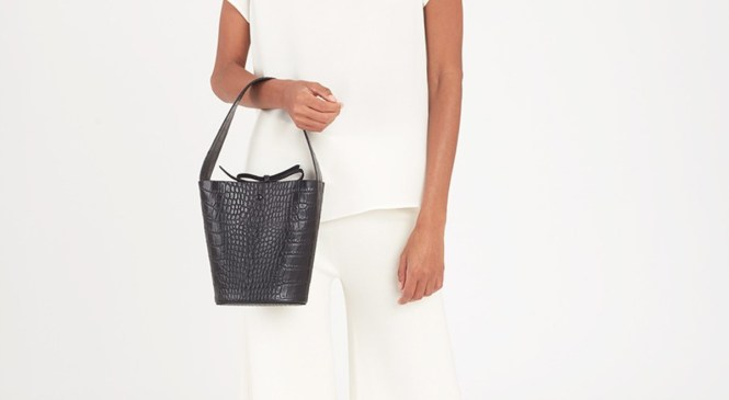 Maria Wants to Add This Croc-Embossed Purse to Her Mini Bag Collection