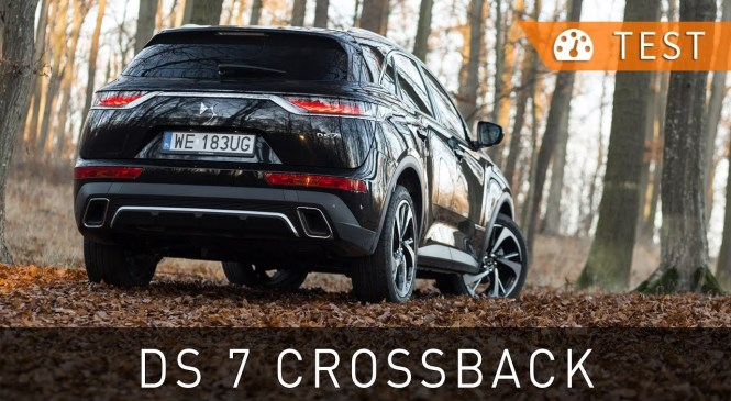 DS 7 Crossback BlueHDi 180 Grand Chic (2018) – test [PL] | Project Automotive