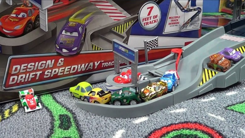 Disney Cars Design Drift Speedway Product Review
