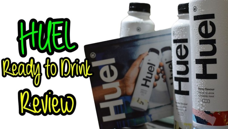 Huel Ready To Drink Review RTD Berry & Vanilla
