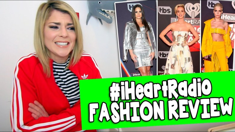#iHeartRadio MUSIC AWARDS FASHION REVIEW // Grace Helbig