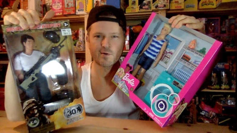 ANOTHER BARBIE KEN VS. WORLD PEACEKEEPERS G. I. JOE FASHION SWAP UNBOXING REVIEW