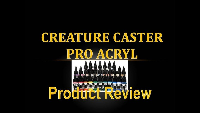 Product Review 36 – Creature Caster Pro Acryl Paint Set