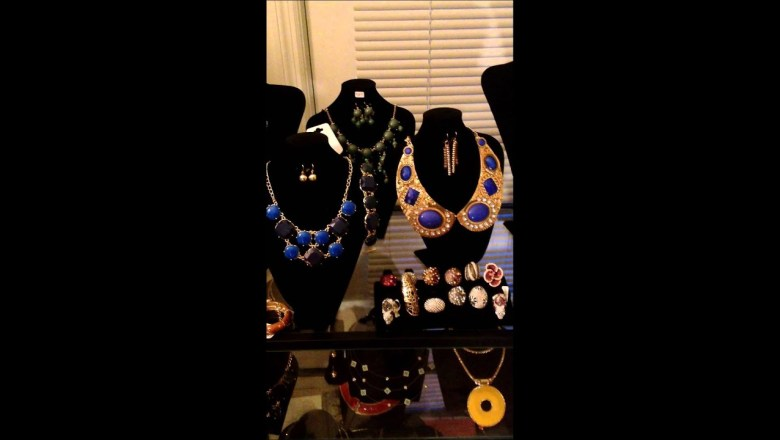Jewelry haul 2013, fashion accessories furs etc, preview what's on my website