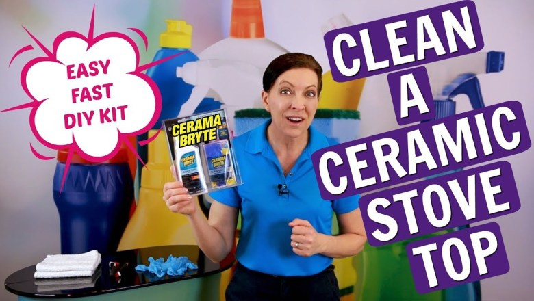 How to Clean a Ceramic Stove Top – Cerama Bryte Product Review