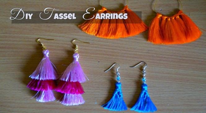 DIY Tassel Earrings   DIY Trendy Jewelry   DIY Fashion Jewelry