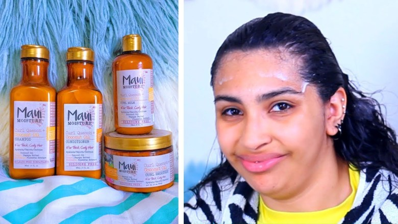 Drugstore Hair Products $ Maui Moisture Review