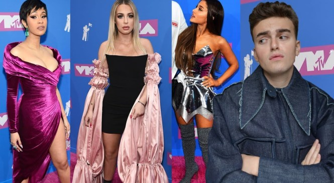 VMAs 2018 FASHION ROAST (tana is a mess, ariana has no style, and cardi killed it)