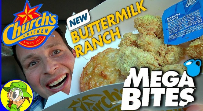 Church's Chicken® | Buttermilk Ranch MegaBites™ | Food Review! 💪😋🍗
