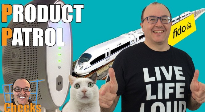 Fido Internet Product Review: High Speed Modem Unboxing