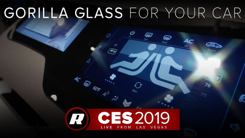 CES 2019: New automotive-grade Gorilla Glass is stronger and more flexible