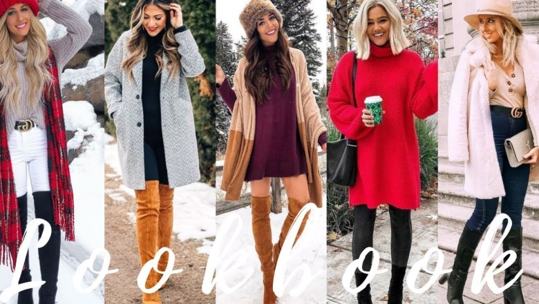 Stylish Outfit Ideas for January 2019 |  Winter Fashion Lookbook