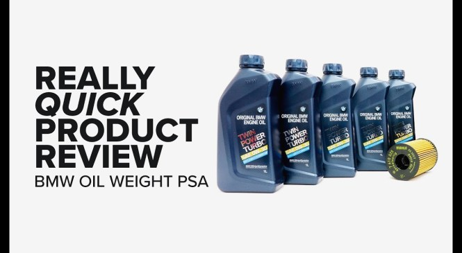 Really Quick Product Review – BMW 5W-30 to 0W-30 Oil Weight Change