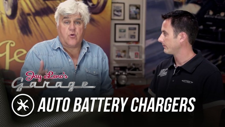 Automotive Battery Chargers – Jay Leno's Garage