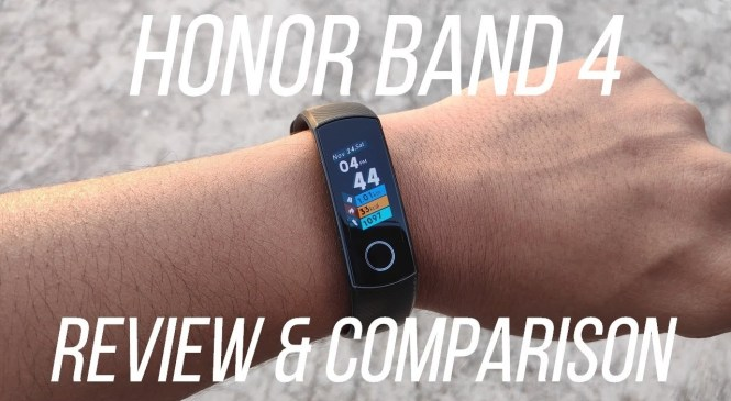 Honor Band 4 Review and Comparison – Best Budget Fitness Tracker?