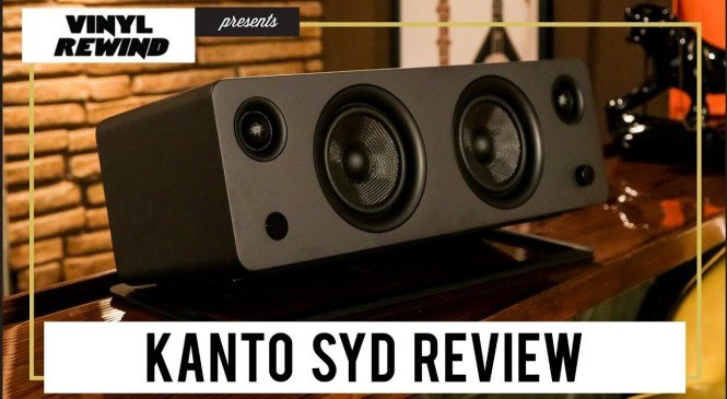 Kanto SYD all-in-one speaker product review | Vinyl Rewind