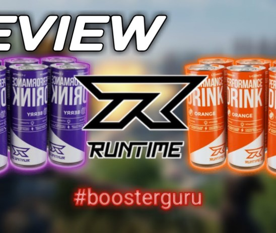"""Runtime """"Performance Drink"""" Review 