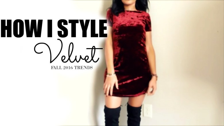 FALL FASHION TREND | HOW TO STYLE VELVET | 3 OUTFITS
