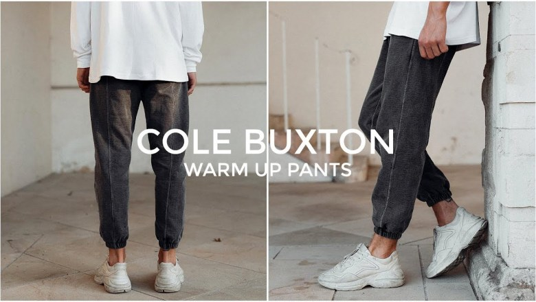 COLE BUXTON WARM UP PANTS REVIEW | Men's Fashion | Daniel Simmons