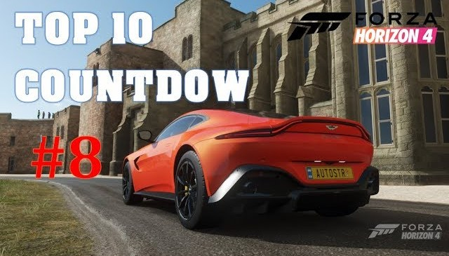 Forza Horizon 4 – Automotive Stories's Top 10 Cars Countdown | #8: Aston Martin Vantage