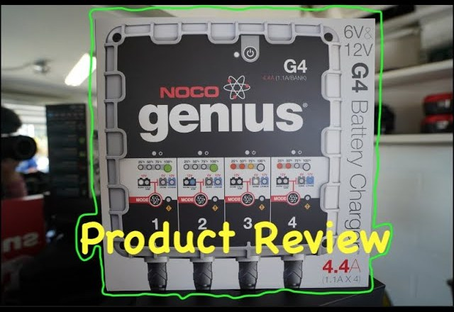 NOCO Genius G4 Product Review