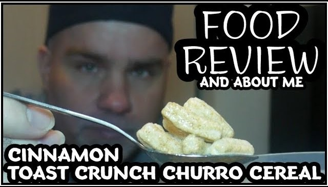 Churro Cereal Food Review And About Me