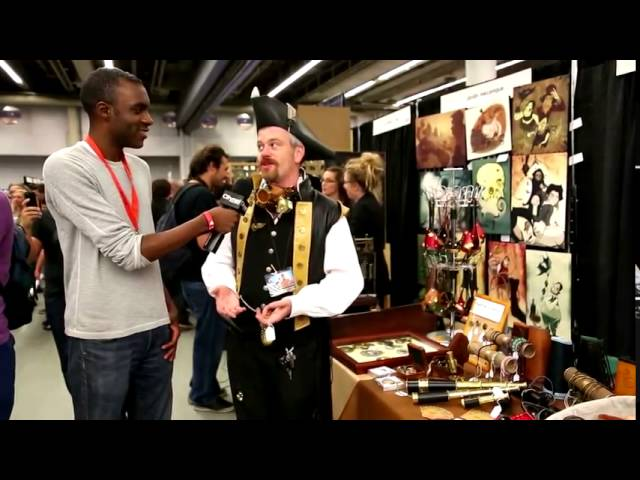 How to Make Steampunk Fashion Accessories with Edward Tallgear