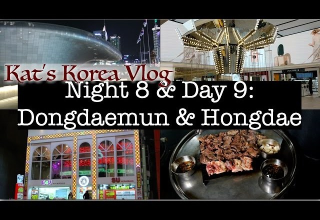 🇰🇷💸👚Korea Vlog: Dongdaemun & Hongdae | Shopping for fashion accessories + Chicken & Beer! 🍻 🍗
