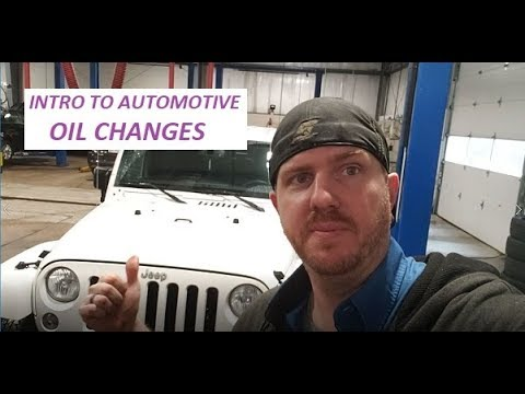 Intro to Automotive – Oil Changes