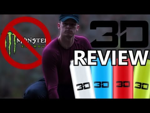 3D Energy Review | The BEST Energy Drink?
