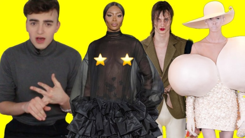 WHAT IS HAPPENING AT BALMAIN!?!?! (Haute Couture Spring 2019 Fashion Show Review & Roast)