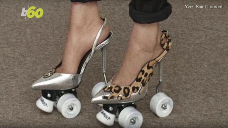 New Fashion Trend?: Roller Skate Stilettos