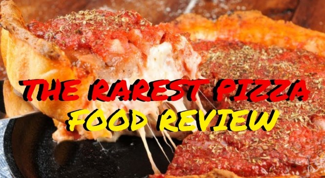 RAREST PIZZA RESTAURANT IN MY CITY | FOOD REVIEW