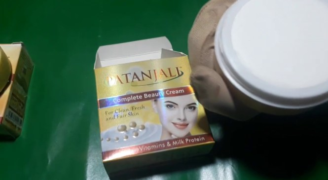 Patanjali unboxing Product Review Skin Whitening Cream Fairness Beauty