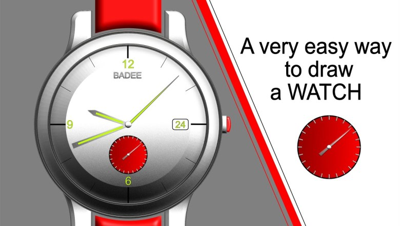 HOW TO DRAW A WATCH | FASHION ACCESSORIES | AFFINITY DESIGNER iPad