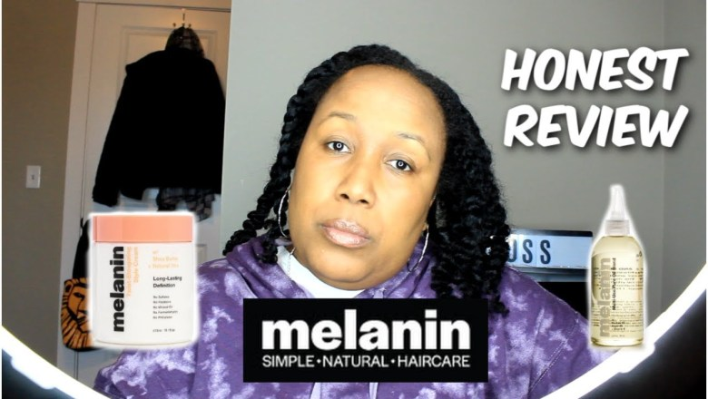 NEW Melanin Hair Products by Naptural85 | Honest Review