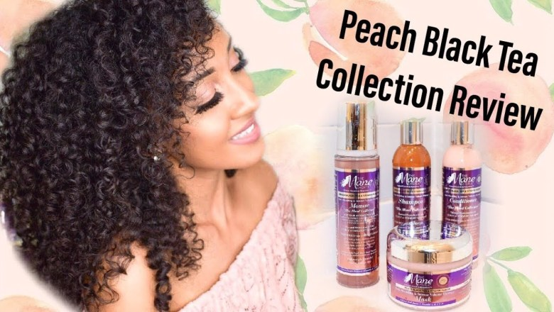 Product Review | The Mane Choice Peach Black Tea Collection