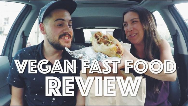 VEGAN FAST FOOD REVIEW (DAYM DROPS TRIBUTE)