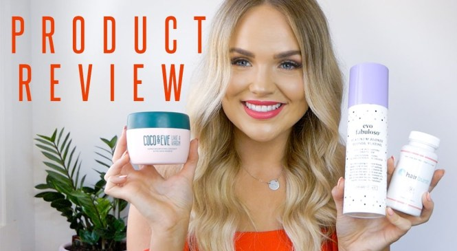 HAIR PRODUCT REVIEW (IN-DEPTH) BONDI BOOST, OLAPLEX, COCO & EVE AND MORE!