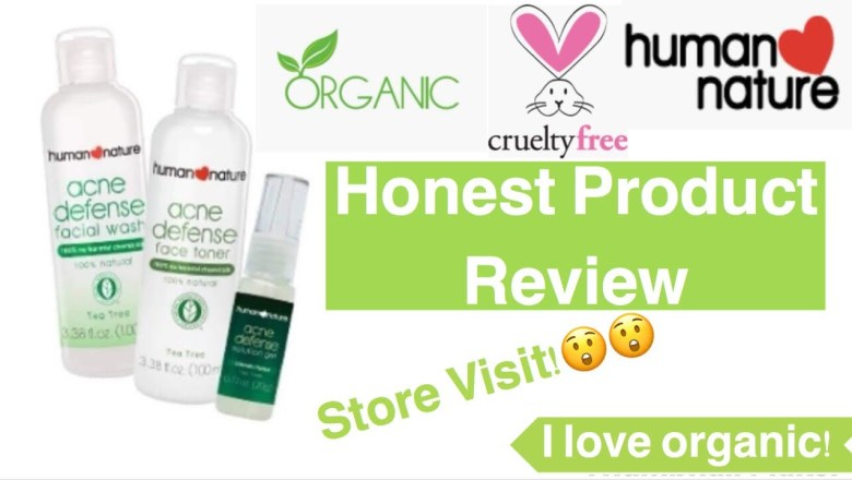Human heart Nature: product review + store visit | organic skin care
