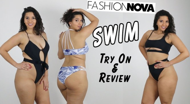 Fashion Nova Swimsuit Haul Try-on and Review #2