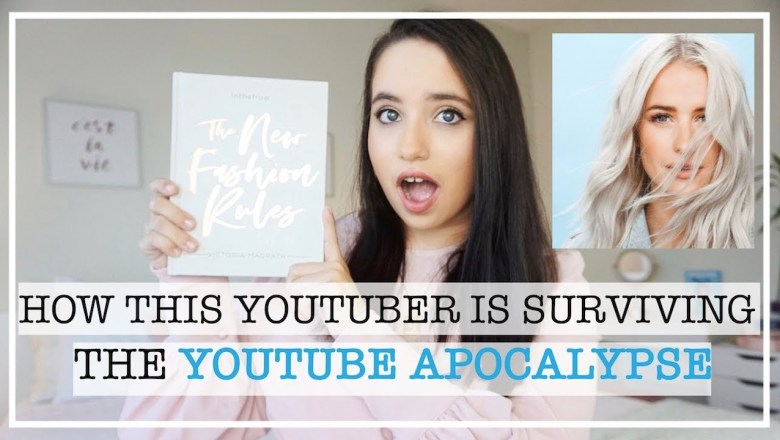 HOW INTHEFROW IS SURVIVING THE YOUTUBE APOCALYPSE | Inthefrow New Fashion Rules Book Review