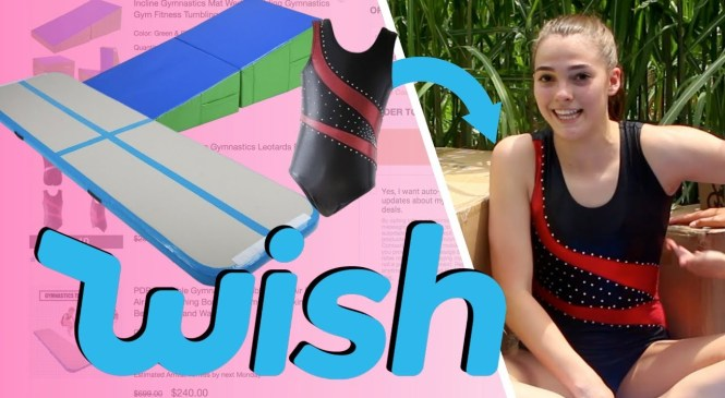 TESTING GYMNASTICS PRODUCTS FROM WISH!