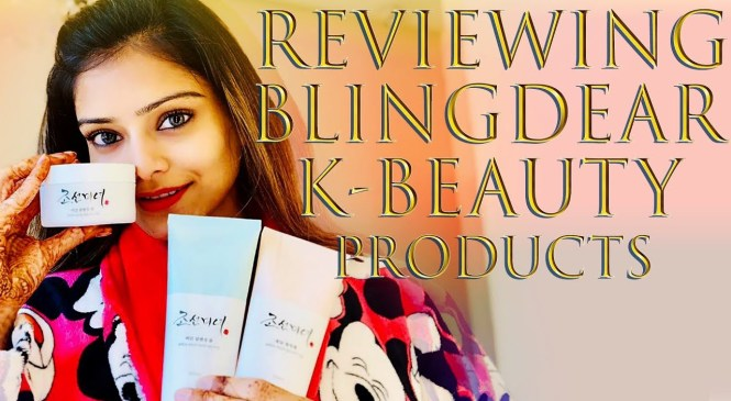 Blingdear K Beauty Product Review | Product Review Tutorial | Honest Product Reviews |  Foxy Makeup
