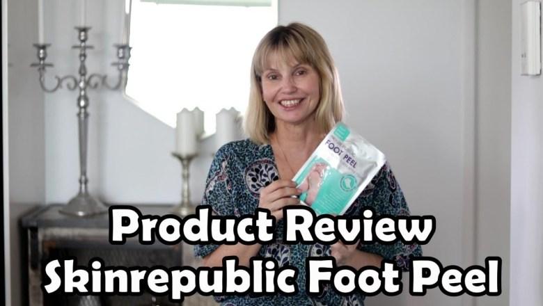 Product Review — Skin Republic Foot Peel