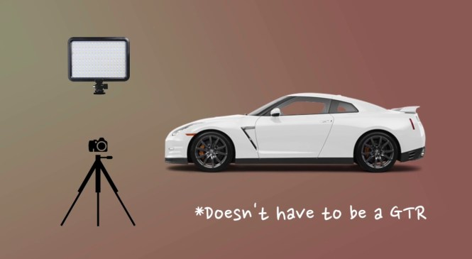 How to Light Paint – Automotive Photography 101