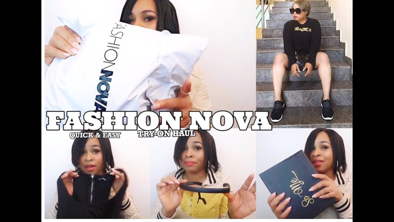 FASHION NOVA MINI UNBOXING |TRY ON HAUL| Clothing and Accessories